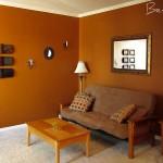 Furnished Living Room Before