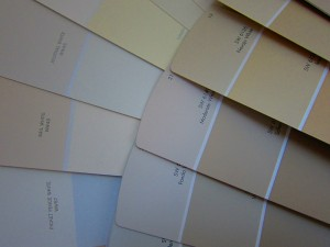 A few suggested white paints